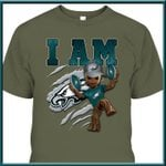 I Am Philadelphia Eagles Groot shirt hoodie sweater