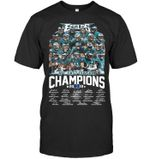 Philadelphia Eagles Nfc East Division 2019 Champions All Player Signed t shirt hoodie sweater