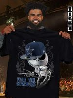 Jack Skellington Dallas Cowboys Fear The Cowboys Halloween t shirt hoodie sweater