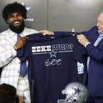 Zeke Who Dallas Cowboys Signed t shirt hoodie sweater