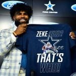 Zeke Who Thats Who Signs Dallas Cowboys t shirt hoodie sweater