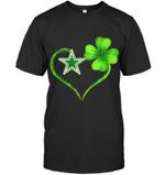 Dallas Cowboys Irish Saint Patrick Clover Love t shirt hoodie sweater