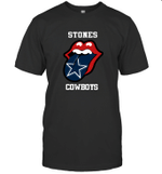 Stones Dallas Cowboys The Rolling Stone Fan Funny t shirt hoodie sweater