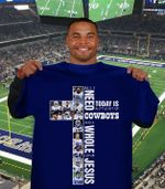 All I Need Today Is A Bit Of Dallas Cowboys And Whole Lot Of Jesus The Cross t shirt hoodie sweater