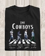 The dallas cowboys legend abbey the road roger emmitee troy tom signed for fan t shirt hoodie sweater