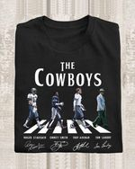 The dallas cowboys legend abbey the road roger emmitt troy tom landry signed for fan t shirt hoodie sweater