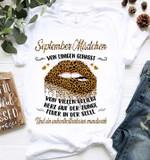 September madchen von einigen gehasst von vielen geliebt herz auf der zunge t shirt hoodie sweater
