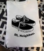 hi neighbor black classic vans t shirt hoodie sweater