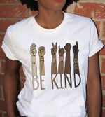 Be kind sign language motivational quote t shirt hoodie sweater