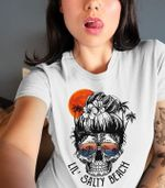 Lil salty beach skull retro glasses for lovers t shirt hoodie sweater