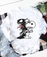 Snoopy venom dancing together for fan t shirt hoodie sweater
