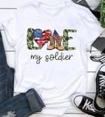 Love my soldier us flag heart boots camo for lovers t shirt hoodie sweater