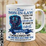 Dear son in law thanks for being my son in law if i had different son in law him mother in law t shirt hoodie sweater