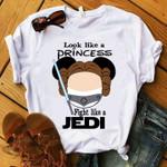 Look like a princess fight like jedi mickey for fan t shirt hoodie sweater