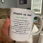 Stepped up dad definition thank you for being the father you didnt have to be mug t shirt hoodie sweater