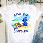 Stitch save the turtles for fan t shirt hoodie sweater