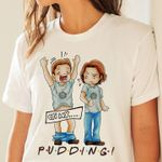 Friends supernatural sam and dean winchester on my pudding t shirt hoodie sweater