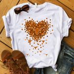 Texas longhorns hearts t shirt hoodie sweater