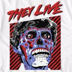 They live movie cover skull face for fan t shirt hoodie sweater