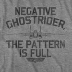 Top negative ghostrider the pattern is full for fan t shirt hoodie sweater
