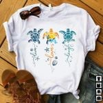 Ocean turtle live love laugh colorful t shirt hoodie sweater