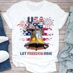 Usa let freedom ring happy the fourth of july american independence day t shirt hoodie sweater