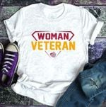 woman veteran usa heart t shirt hoodie sweater