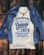 Premium 100% Authentic Vintage 1970 Quality t shirt hoodie sweater