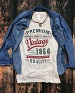 Premium Vintage 1956 100% Authentic Quality t shirt hoodie sweater