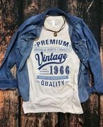 Premium Vintage 1966 100% Authentic t shirt hoodie sweater