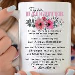 Watercolor floral png to my dear daughter if ever there is a tomorrow when we're not together coffee mug t shirt hoodie sweater