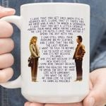 When harry met sally quote i love that you get cold when it's 71 degrees out for fan mug t shirt hoodie sweater