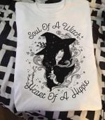Soul of a witch heart of a hippie for lovers t shirt hoodie sweater