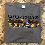 Wu tang clan group peanuts style logo for fan t shirt hoodie sweater