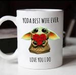 Yoda best wife ever love you i do husband wife gifts mug t shirt hoodie sweater
