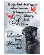 Pugs Cardinals When You Believe Beyond What Your Eyes Can See Signs From Heaven Poster