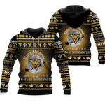 merry christmas West Virginia Mountaineers to all and to all a go Mountaineers ugly christmas 3d printed sweater t shirt hoodie