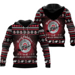 merry christmas Ohio State Buckeyes to all and to all a go Buckeyes ugly christmas 3d printed sweater t shirt hoodie