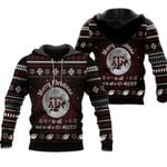 merry christmas Texas A&M Aggies to all and to all a go Aggies ugly christmas 3d printed sweater t shirt hoodie