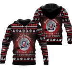 merry christmas Arizona Wildcats to all and to all a go Wildcats  ugly christmas 3d printed sweater t shirt hoodie
