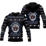 merry christmas Auburn Tigers to all and to all a go Tigers  ugly christmas 3d printed sweater t shirt hoodie