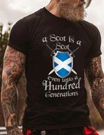 A scot is a scot even unto a hundred generations birthday gift t shirt hoodie sweater