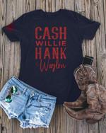 Cash willie hank waylon johnny cash for fan t shirt hoodie sweater