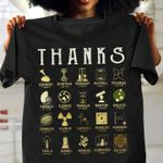 Thanks scientist for your contributions mathmatics birthday gift t shirt hoodie sweater