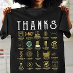 Thanks for your contributions scientist mathematics work t shirt hoodie sweater