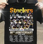 Pittsburgh steelers 88th anniversary signed for fan thank you for the memories t shirt hoodie sweater