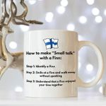 How to make small talk with a finn birthday gift finland t shirt hoodie sweater