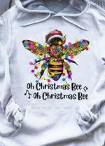 Christmas bee ornament oh christmas bee oh christmas bee xmas gift t shirt hoodie sweater