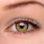 Eyeshinning Mystery Yellow Colored Contact Lenses