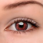 Eyeshinning Floweriness Pink Colored Contact Lenses